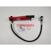 厂家直销小型手动泵CP-180超高压油压泵液压站手动泵汇能