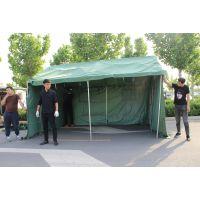 户野外防雨军工工程工地施工帆布棉帐篷民用加厚救灾养蜂殖帐篷布