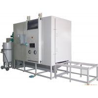 发热盘和电热管专用自动转台式喷砂机