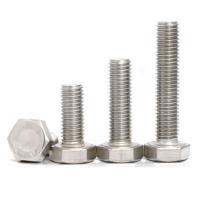 不锈钢厂家 不锈钢六角螺栓 304外六角螺丝