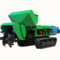 山西小型履带式开沟机价格 农业机械开沟机多功能