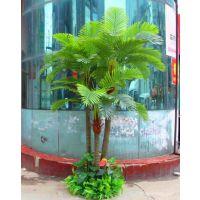 绿植假树椰子树仿真植物盆栽大型仿真树客厅酒店落地盆景