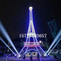 大型埃菲尔铁塔商场户外铁艺模型巴黎艾菲尔铁塔金属道具定制摆件