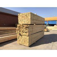 新疆樟子松精加工防腐木碳化木外墙板弧形挂板