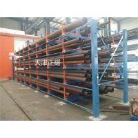 圆管存储选用伸缩悬臂式圆管货架