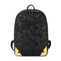 时尚潮流男士双肩包休闲防水旅行电脑包韩版青年个性背包学生书包