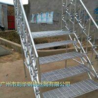 热镀锌方格插接格栅板 重型钢格板批发 防腐蚀楼梯钢格栅防滑板