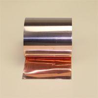 紫铜箔 T1 T2国标精密铜箔 0.05超薄紫铜箔