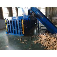 液压卧式废纸打包机视频安徽二手160吨压包机价格思路维修液压打包机