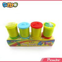 国际标准 Dough-4BX水性泥 diy儿童水性3d橡皮泥 彩泥橡皮泥批发