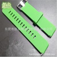 硅胶手环 表带产品加工 来图定制丝印 移印 喷油加工  量大从优