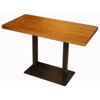倍斯特现代中式实木餐桌创意中餐湘菜西餐厂家定制