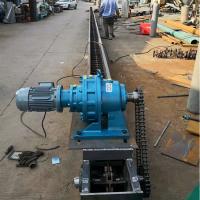 水平或倾斜刮板式输送机 刮板输送机设计图铭扬机械
