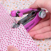 小型缝纫机家用电动台式迷你简易多功能吃厚型微型脚踏手持衣车