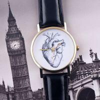 OKTIME 欧美时尚另类腕表 个性潮流时装表 小心脏皮带手表