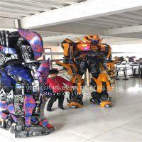 穿戴式变形金刚机器人大黄蜂擎天柱威震天模型人气道具商业演出服