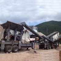 厂家直销 移动锤式破碎机 建筑垃圾破碎站 一机多用 高效节能