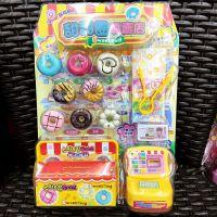 韩版迷你汉堡专卖店冰淇淋美食儿童仿真甜甜圈女孩过家家玩具套装