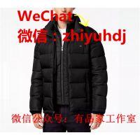 提供上海CK专柜同款男装棉服批发代购货源工厂直销价格
