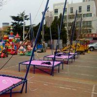 河南好奇乐游乐设备有限公司现货直销户外儿童折叠蹦极跳床游艺设施系列