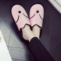 冬季棉拖鞋居家地板拖厚底保暖防滑家居室内情侣毛毛拖鞋厂家批发