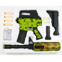 电动音乐水弹枪水弹软弹音乐灯光4合一功能儿童音乐水弹枪系列802