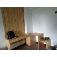 厂家直销定制酒店宾馆客房出租屋公寓标间全套家具床架 电脑桌子