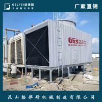 北京横流式冷却塔 375T方形玻璃钢冷却塔 三拼体方形凉水塔