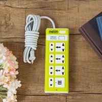厂家直销泰国外贸热销USB插座万能孔接线板3米开关出口专用插座