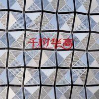氟碳烤漆屏风隔断冲孔铝单板-镂空大小孔铝板-吊顶幕墙雕花铝型材
