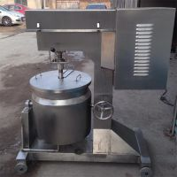 高速变频肉丸打浆机 肉泥食品打浆机 肉丸机加工设备