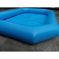 儿童玩具户外水池定做 装水玩具充气大型水池工厂电话 定做气垫充气水池设备