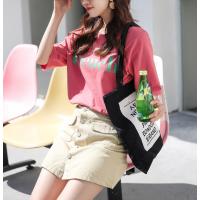 江苏扬州批发市场厂家低价大量批发时尚韩版T恤发女装尾货大量 供应