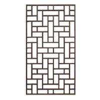 中式古典原色实木仿古门窗 镂空花格装饰背景墙雕花窗户厂家定制