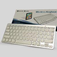 超薄平板电脑蓝牙键盘 巧克力键帽迷你小键盘 商务办公无线键盘