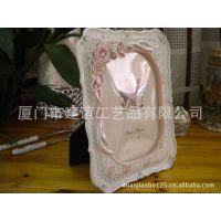 厂家热销 田园树脂影楼玫瑰相框照片墙婚纱照摆台画框