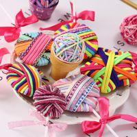 欧美外贸棒棒糖造型可爱头饰发饰品30根头绳皮筋松紧绳大人儿童