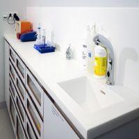 LG豪美思HI-MACS和杜邦可丽耐DUPONT CORIAN人造石厨房台面定制