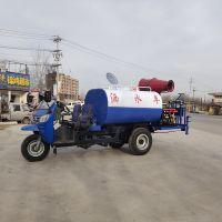 三轮洒水车 雾炮除尘农用三轮洒水车多功能园林绿化洒水车