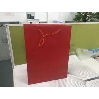 红色通用手提纸袋|会议手提袋每个1.5元|纸袋现货一小时内发货