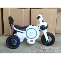 太空狗儿童电动车摩托车儿童电动三轮车电瓶车童车自行车批发