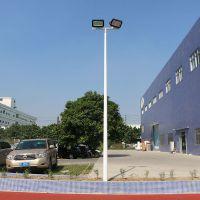 8米露天篮球灯杆 广州适合室外篮球场灯杆 户外太阳能路灯照明