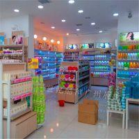 化妆品展柜 护肤品化妆品展柜货柜货架 美妆店道具 组装化妆品店展示柜定做设计装修