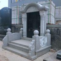大理石农村土葬合葬墓碑,白色墓碑加工厂