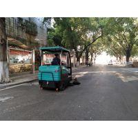 南宁公园落叶清扫用小型电动扫地车性价比高
