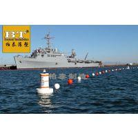 江面隔离船只警示航标浮筒科拦截漂浮物浮排介绍