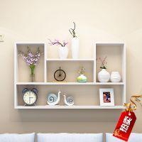 墙上置物架书柜电视墙室内卧室柜阳台吊柜挂柜壁柜挂墙式置物架