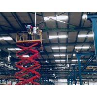 大型厂房安装新型瑞泰风工业吊扇降温设备哪家好?