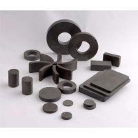 高性能铁氧体永磁 方块形 圆形 圆柱 扇形 瓦形强磁铁定做 ferritemagnet