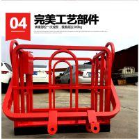 厂家直售2米吊车吊篮中联8吨--50吨通用施工升降机吊篮 自动调平尺寸可定做 吉祥